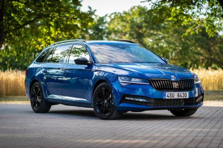 Skoda Superb Estate 2.0 TSI 190 SE L 5dr DSG